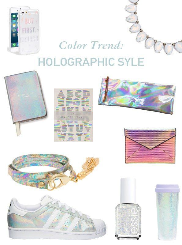 Color Trend_ Holographic Style - Twin Stripe Blog