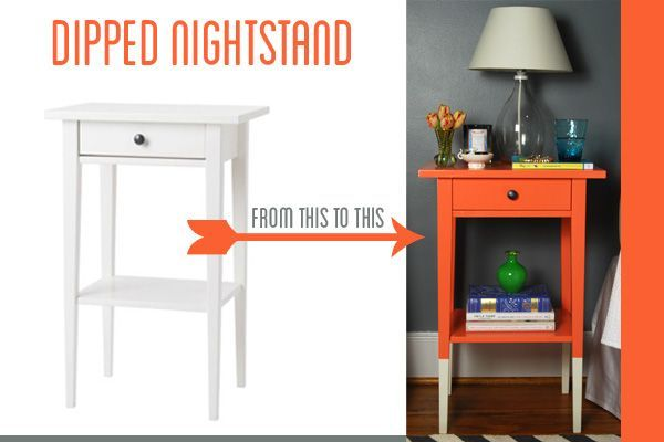 35 Dipped Nightstand - Twin Stripe Blog