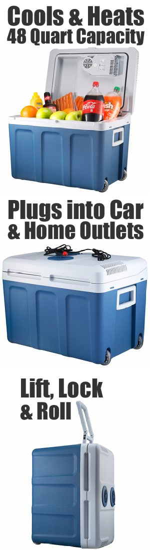 Features and Functions of the Knox Large Electric Cooler with Wheels