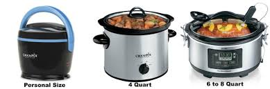 Crock Pot Sizes Guide : How Big do You Need ? 3