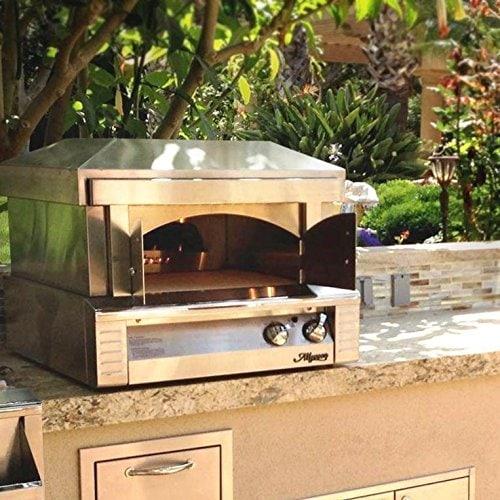 Alfresco 30-Inch Natural Gas Outdoor Countertop Pizza Oven - ALF-PZA-NG