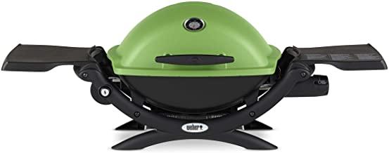 Weber Q-1200 Green LP Gas Grill, 51070001
